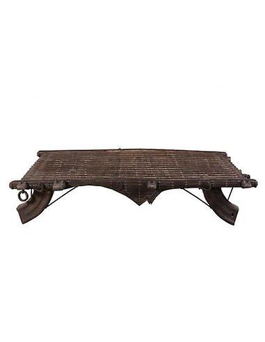 Table basse de chariot en bois de Deco4yourhome