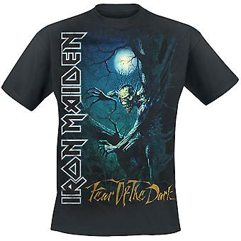 Iron Maiden Medo da T-Shirt Sprite Dark Tree