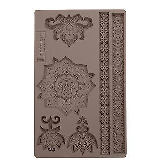 Re-Design met Prima Agadir Patterns 5x8 Inch Mould