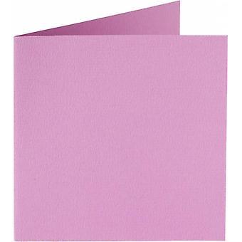 Papicolor 6X Dubbele Kaart 132X132mm Lilac