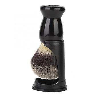 Professional Black Acrylic Shaving Brush Holder