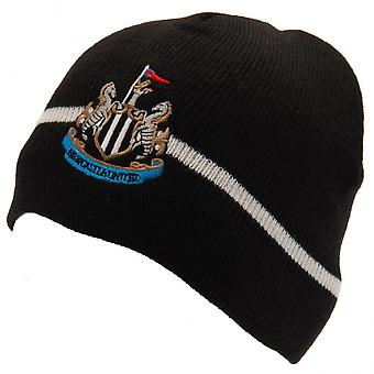 Newcastle United FC Official Adults Unisex Knitted Hat