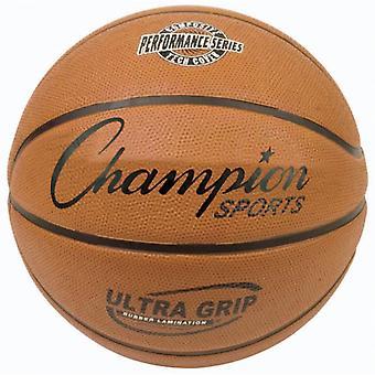 BA059P, Champion Sports Ultra Grip Basketball - Officiel