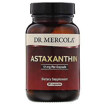 Dr. Mercola, Astaxantin, 12 mg, 90 kapslar