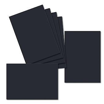 Dark Blue. 115mm x 165mm. Greeting Card. 235gsm Card Sheet.