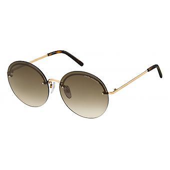 Sunglasses Women's borderless brown