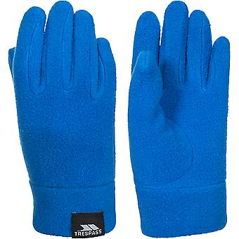 Trespass Boys Lala II Polyester Knitted Polyester Fitted Fleece Gloves