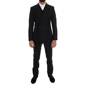 Dolce & Gabbana Mavi Torero 3 Parça Sicilya Takım KOS1111-1