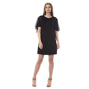 Trussardi Jeans K Black Dress TR996266-IT40-XS