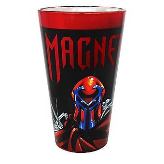 Pint Glass - Marvel - Magneto Chrome  New crmf-xmen-mag