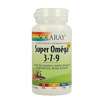 سوبر أوميغا 3-7-9 - فيتامين د 60 اللؤلؤ