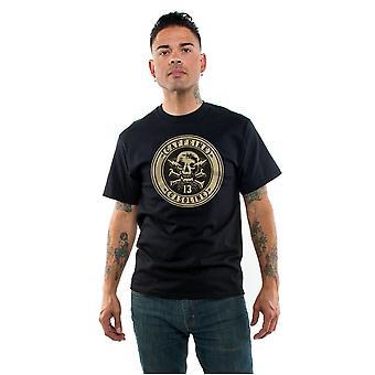 Lucky 13 Men's T-Shirt Caffeine & Gasoline