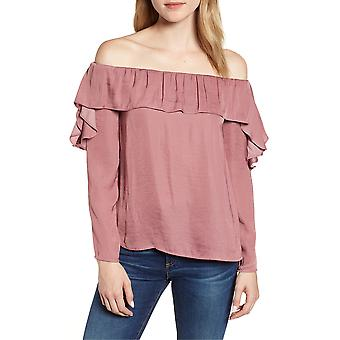 1.State | Ruffled Off-The-Shoulder Top