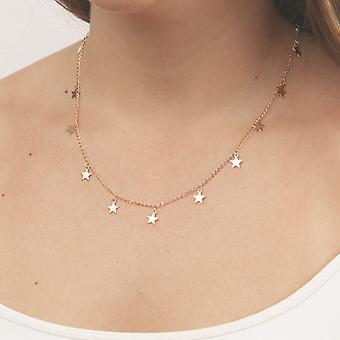 Fashion Pentagram Pendant Necklace