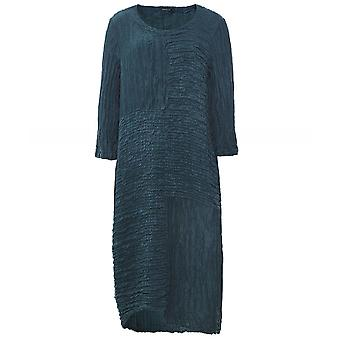 Grizas Silk & Linen Crinkled Dress