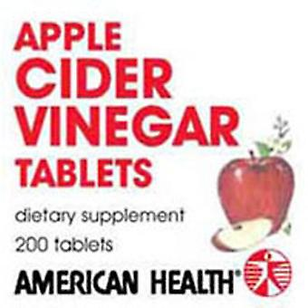 American Health Apple Cider Eddike, 300 MG, 200 Tabs
