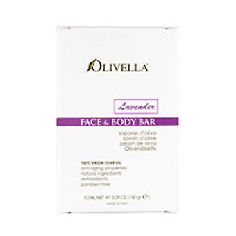 Olivella Bar Soap, Lavender Fragrance 5.29 oz