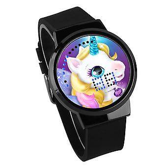 Relógio Luminoso LED Digital Touch Children - Licorne #17