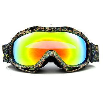 نظارات التزلج الرياضية UV400 دراجة نارية واقية من الرياح