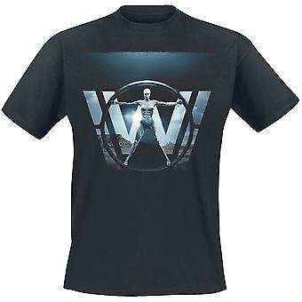 Westworld Adults Unisex Adults Vitruvian Woman T-Shirt