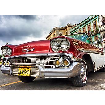 Tapet väggmålning Havanna Oldtimer jag