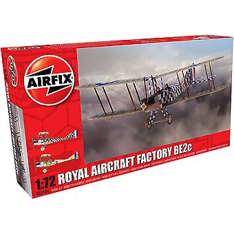 Airfix A02104 Royal Aircraft Factory BE2c Scout Model Kit
