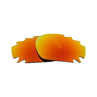 Replacement Lenses for Oakley Vented Racing Jacket Sunglasses Anti-Scratch Red