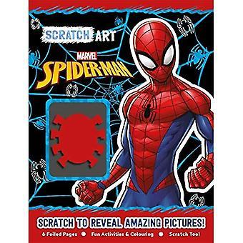 Marvel Spider-Man: Scratch Art