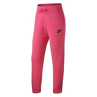 Nike Fleece Reg 806326615 universal ympäri vuoden tyttöjen housut