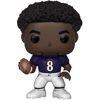 Lamar Jackson (Ravens) Usa:n tuonti