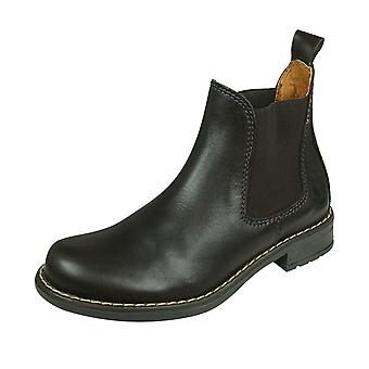 Cool Boys Charlie Leather Chelsea Boots - Brun