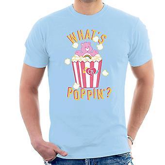 Care Bears Cheer Bear Whats Poppin Men''s T-Shirt
