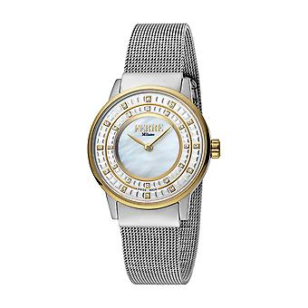 Ferre Milano Ladies Silver Dial  Mesh / GP Watch
