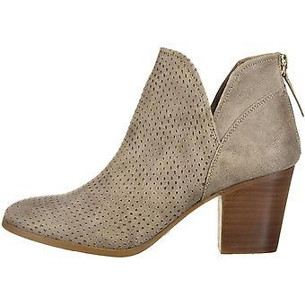 Fergalicious Womens Bonus Suede Square Toe Ankle Fashion Boots