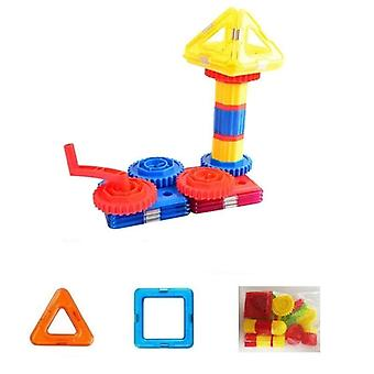 Diy Building Bricks Accessory, Construct Magnet Model Toy