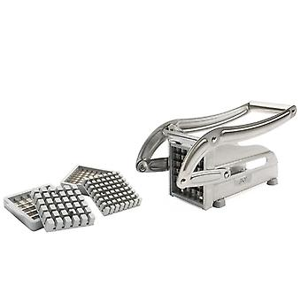 Stainless Steel French Fry Potato Strip Cutter,  Chips Cutting Machine, Hand