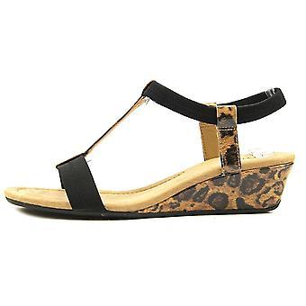 Sandálias de plataforma Casual Alfani Womens Voyage dedo aberto