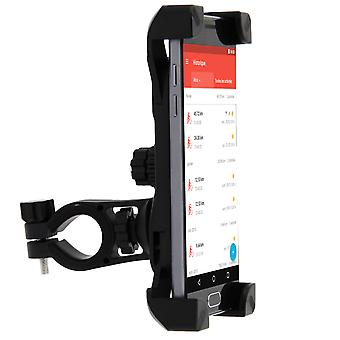 Smartphone support for bike and mountain bike - secure hook