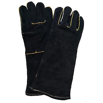 Outdoor Magic Leather Fire Flame Resistant Gloves