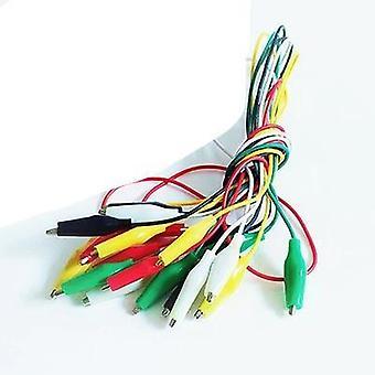 Alligator Elektrische Test Leads Clip, Wire Connector Kabel