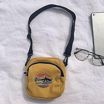 Mini Canvas Handtaschen und kleine Tuch Schulter, Crossbody Taschen