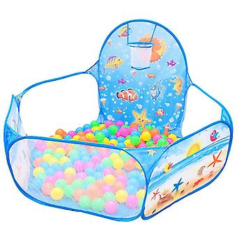Cartoon Folding Indoor Ocean Ball Pool Layout Fence For Baby