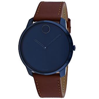 Movado Men's Bold Blue Dial Watch - 3600585