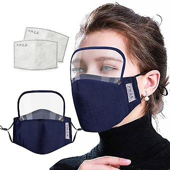 Unisex Cotton Reusable, Washable, Windproof, Dust-proof Breathable Adults Face