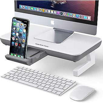Monitor Stand Riser, AboveTEK Adjustable Computer Stand with Storage Drawer