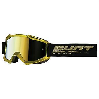 Skott Iris Solid Guld MX Goggles