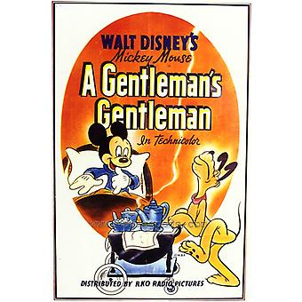 Джентельмены джентльмен фильм плакат печать (27 x 40)
