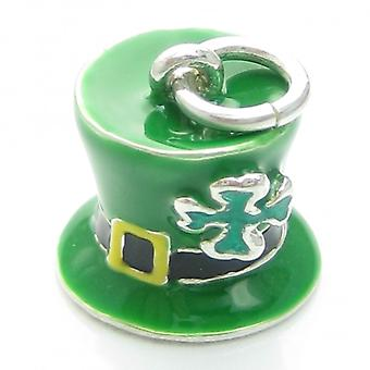 Ierse Lucky Hat Sterling Silver Charm .925 X 1 Ierland Kabouter Hoeden - 6340