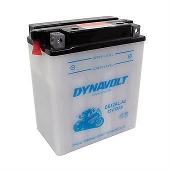 Dynavolt CB12ALA2 High Performance Battery With Acid Pack