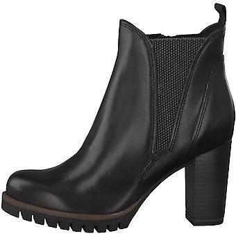 Booties High Heels Negro Antic